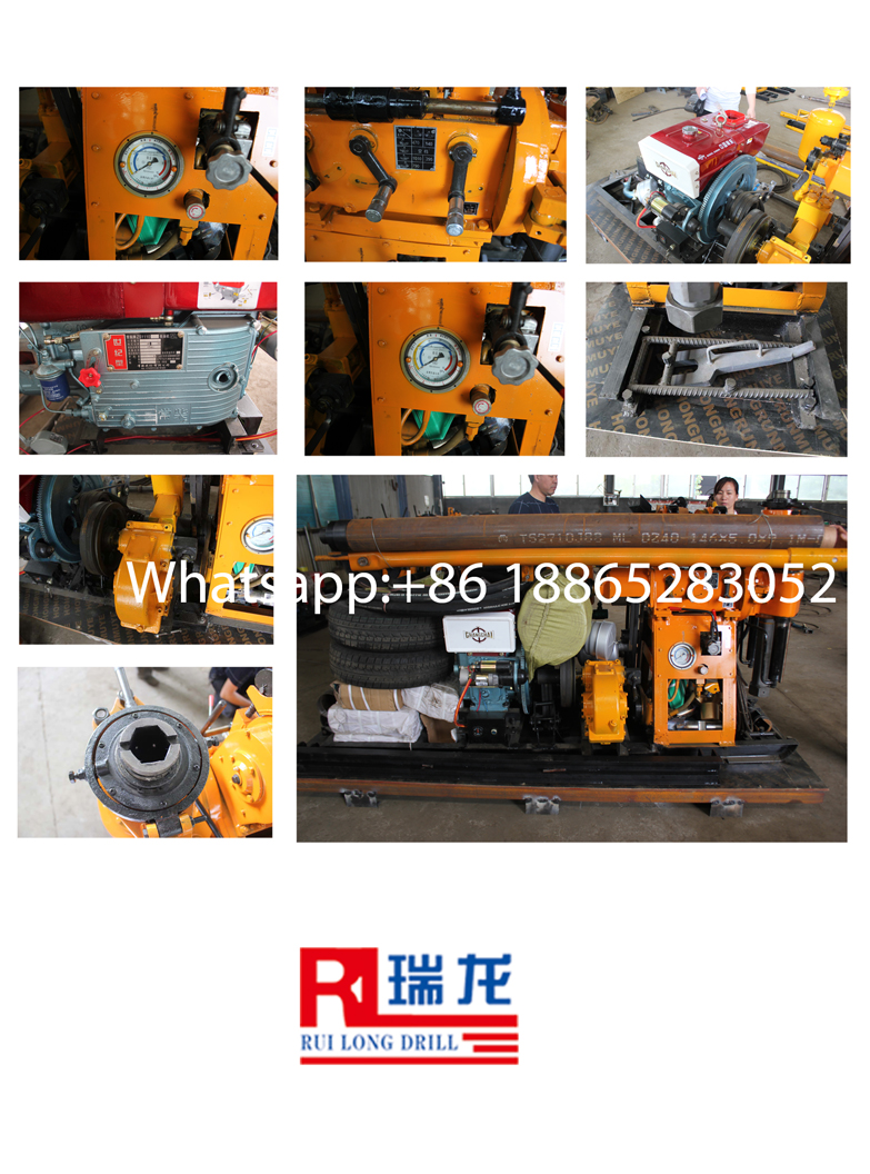 Chinese good quality YSL-200 deep water well drilling rig machine for sale