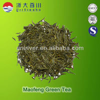 Chinese specail green organic maofeng green tea