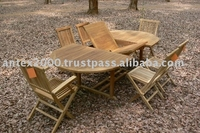 Teak Garden and Outdoor Furniture: Teak Patio Sets