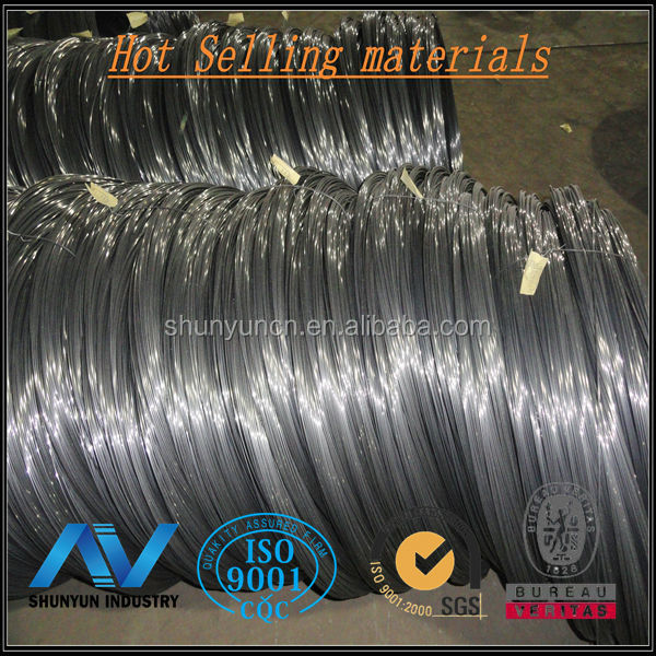 Hot rolled galvanized low carbon steel wire rod coils sae 1008 6.5mm diameter