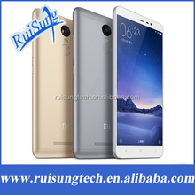 "Original Xiaomi Redmi Note 3 Prime Metal Body Fingerprint ID Mobile Phone Helio X10 Octa Core 5.5"" 1920X1080 3GB RAM"
