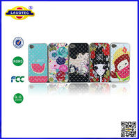 DIY Cute Luxury Bling Crystal Diamond Hard Case Cover for iPhone 5 Mobile Phone Accessories Laudtec