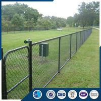 Strong technical force airport security galvanized chain link fence