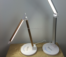Folding Modern Led Desk Lamp / Wider Angle Hotel Table Lamp With Usb Port Led Light / Portable Table Lamp Reading Led Desk Light