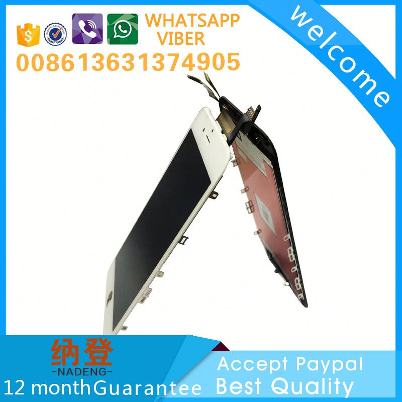 Safe business lcd for iphone 6S lcd with touch screen accept paypal