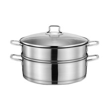 Multifunctional Stainless Steel Steamer Cooking Pot 30cm