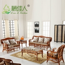 Fashionable Leisure Cane sofe table and chair set