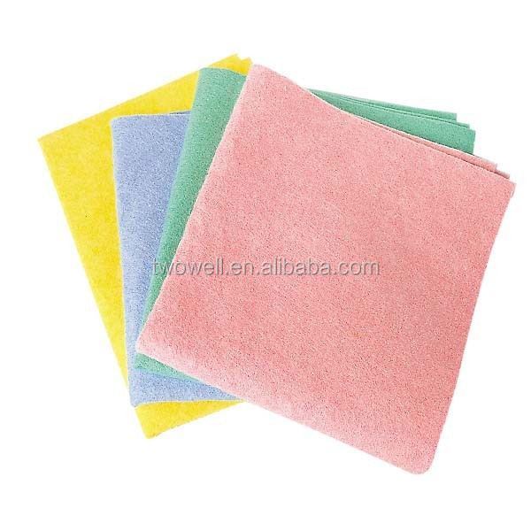 spunlace nonwoven wash cloth can be fully biodegraded within 6 months