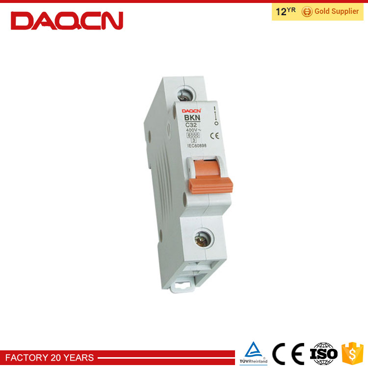 Excellent quality low price mcb parts miniature circuit breaker
