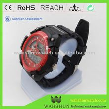 NEW ARRIVAL!!! DW1335 WAH SHUN Mens digital dual time wrist watch