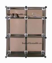 Pp plastic board storage bins with lid