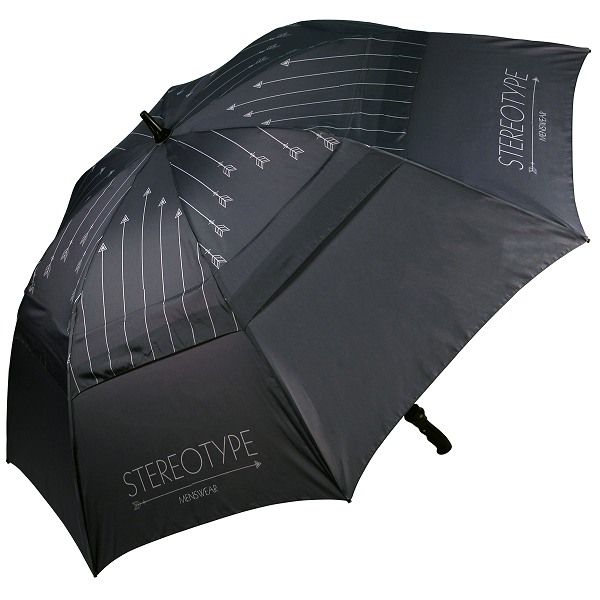 double canopy Automatic Straight Windproof Golf Umbrella