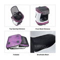 Foldabl transport backpack Carrier Pet travel bag