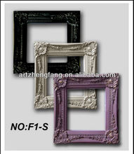 Modern mini wooden painting carving frames decoration