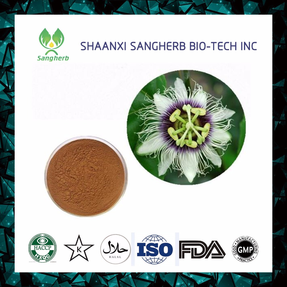 High Quality Passion flower extract powder 4% flavonoid Passionflower Extract powder