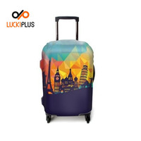 Luckiplus Resilient Luggage Cover Protective Trolley Case Cover In Stock