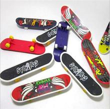 Mini Skateboard Model Toys High Quantity Plastic Finger Skateboard Mixed Style For Children's Toys Wholesale