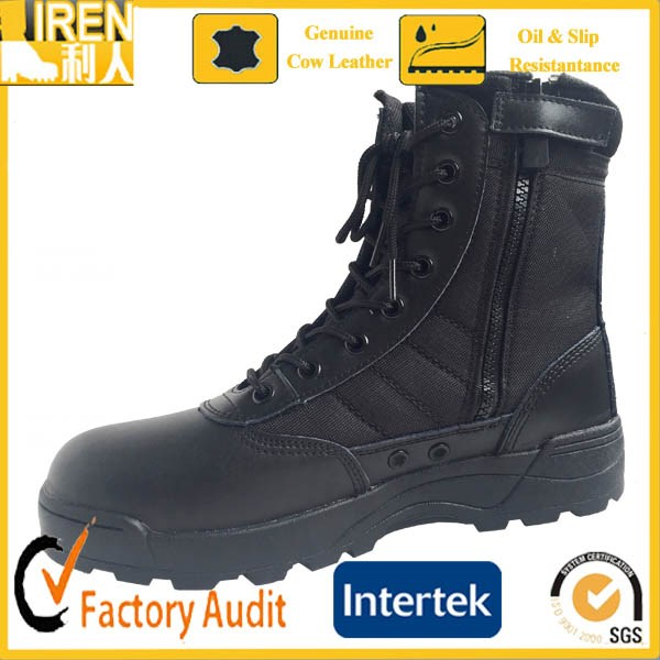 Factory price cheap men military riding boots