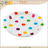 Disposable bulk paper plates for christmas, themed birthday party supplies