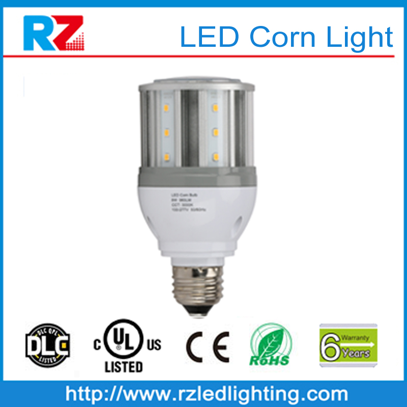 2016 hot sale high quality 6 years warranty DLC/UL led corn lights bulb