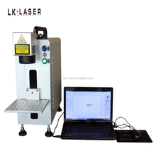 Factory 20W portable mini fiber laser marking machine price for sale cnc machine for metal marking