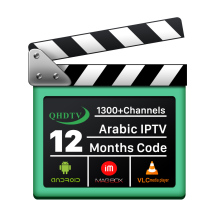 Arabic IP TV HD IPTV Receiver Channels 1 Year QHDTV Subscription IPTV for Sports Hot IPTV Reseller