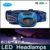 Headlamps,headlight Camping Type ,Hiking,Emergency Fishing lights,Unique design LED HEAD LAMP