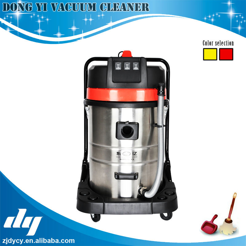 big power 3000W Industrial stainless steel tank wet and dry vacuum cleaner