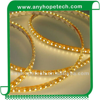 UL SMD3528 9.6W 120 LED per meter 24V Ra 90 warm white 2700K flexible led strips