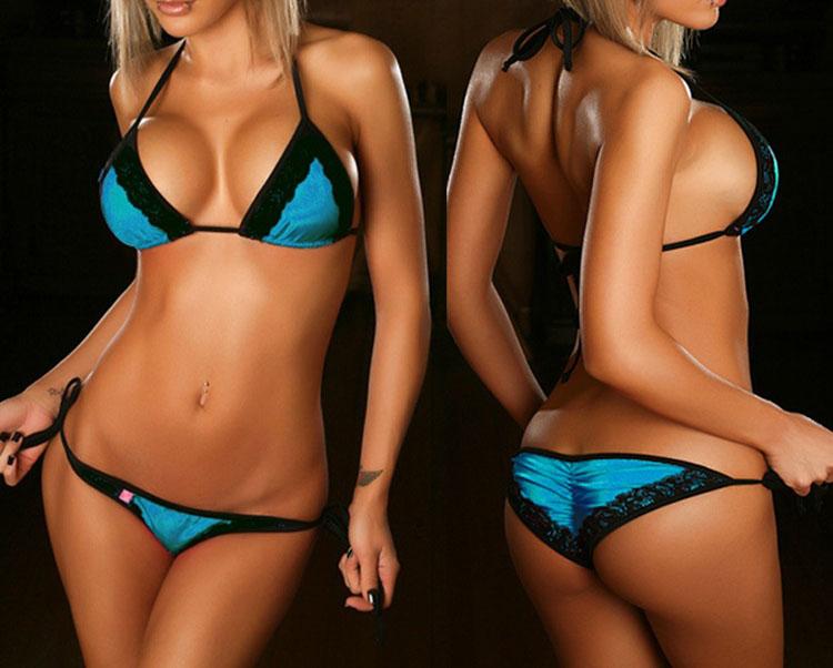 Les Miss bikini dfilent en maillot de bain trs sexy