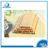 promotional items wooden color pen and pencil set
