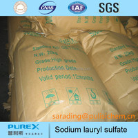 Sodium Lauryl Sulfate SLS White Powder