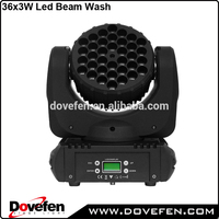 RGBW led mini beam 36 3 moving head
