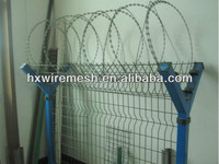 America used welded mesh barbed wire airport fence