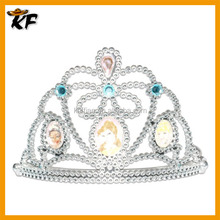 cheap silvery rhinestone festiva accessories birthday tiara