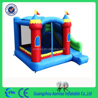 Inflatable jumping castle bounce castle happy hop bouncy castle for kids
