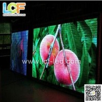 Aliexpress China xxx hot selling video p6 indoor full color electronic programmable video display
