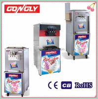 High quality ice cream maker table top soft ice cream machines/soft serve ice cream machine
