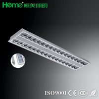 High quality factory made recessed mounted led ceiling grille light