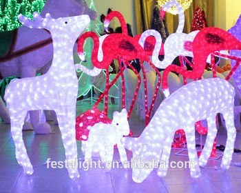 2016 New product Christmas decoration led deer light