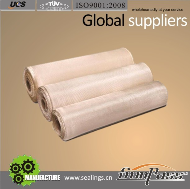 Industrial Hydraulic Hoses Silica Fabric 1440C High Silica Fiber Glass Cloth