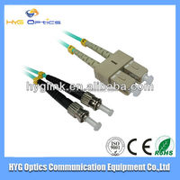 Factory outlet om3 optic fiber st sc patch cord fiber optic cable meter multimode price