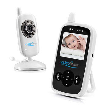 2.4''LCD Digital Video Baby Monitor with Two-way Talkback system , Temperature Sensor for baby, Portable baby foon