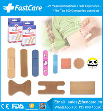 CE FDA Sticking Medical Adhesive Sterile Wound Plasters