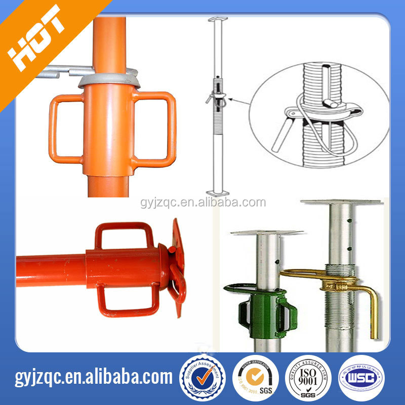 steel props/props/formwork/construction fittings/adjustable shoring, factory price