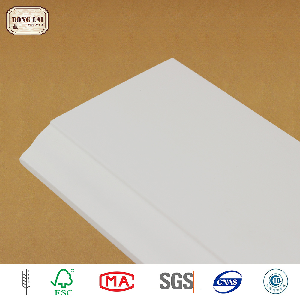 Luxury But Competitive Price corner ceiling frame lacquered moulding environmental protection white paint skirting board