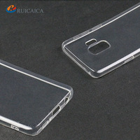Oem Phone Case Transparent Soft TPU Shockproof Pure Series Protection Mobile Phone Case for Samsung S8 S8 Plus