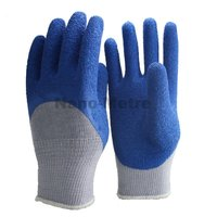 NMSAFETY latex working gloves EN388 rubber insulation gloves