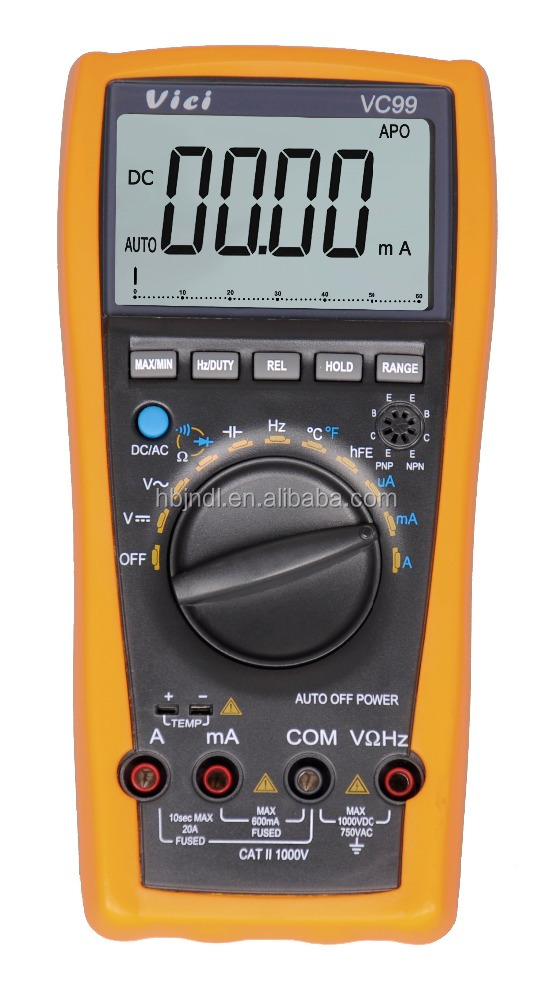 Hot selling professional digital multimeter