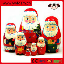2014 Best Selling Fashion Handmade Russian Wooden Christmas Toys